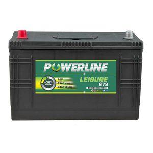 Leisure Battery 679 - Powerline Caravan/Leisure/Marine Battery