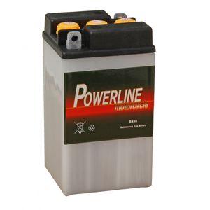 B49-6 Powerline Motorcycle Battery 6V 8Ah B496