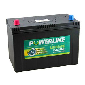 LVC26MF Powerline Leisure Battery 12V
