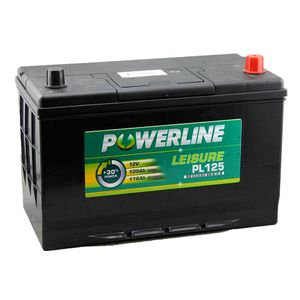 PL125 Powerline Leisure Battery 12V