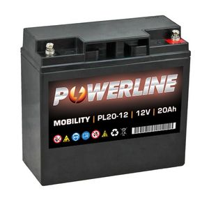 PL20-12 Powerline Battery 12V 20Ah