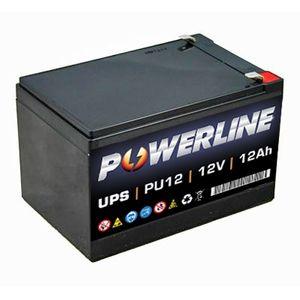 PU12 Powerline UPS Battery 12Ah