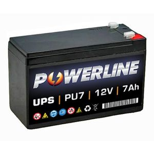 PU7 Powerline UPS Battery