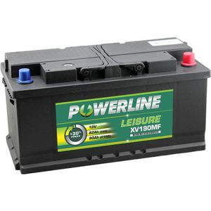 XV190MF Powerline Leisure Battery 12V