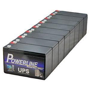 PU87 Powerline UPS Battery Pack