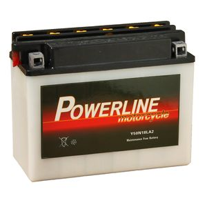 Y50-N18L-A2 Powerline Motorcycle Battery 12V 18Ah Y50N18LA2