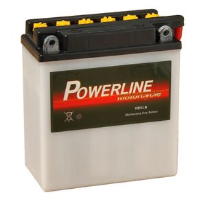 YB5L-B Powerline Motorcycle Battery 12V 5Ah YB5LB