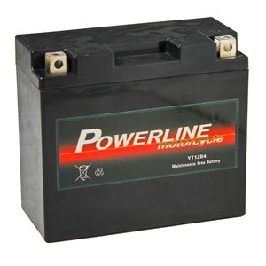 YT12B-4 Powerline Motorcycle Battery 12V 10Ah YT12B4