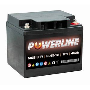 PL45-12 Powerline Mobility Battery 12V 40Ah