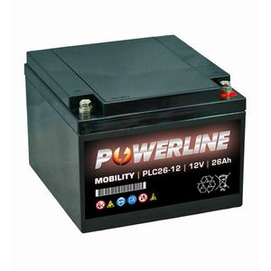 PLC26-12 Powerline Mobility Battery 12V 26Ah