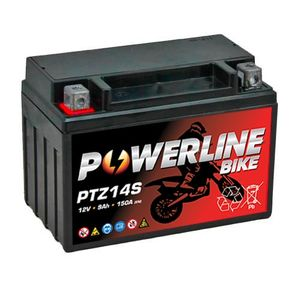 PTZ14S Powerline Motorcycle Battery 12V