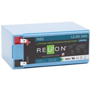 Relion RB5 Lithium Battery 12V 5Ah