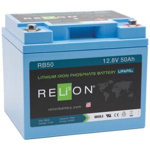 Relion RB50 Lithium Battery 12V 50Ah