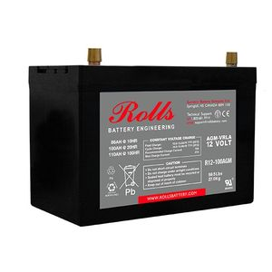 Rolls R12-100AGM Series 2 12 Volt Deep Cycle Battery
