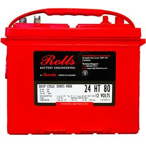 Rolls S105 Series 4000 12Volt Battery