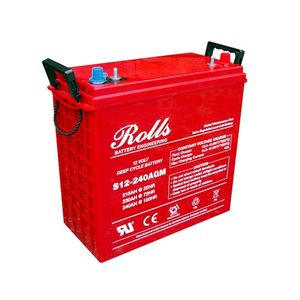Rolls S12-240AGM Deep Cycle Series 12 Volt Battery