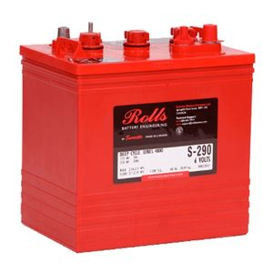 Rolls S290 Series 4000 6Volt Battery (S6 GC2-HC)