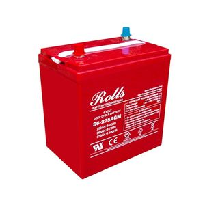 Rolls S6-275AGM Deep Cycle Series 6 Volt Battery