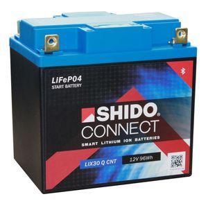 YIX30L SHIDO Connect Lithium Motorcycle Battery LIX30 Q CNT YIX30L-BS