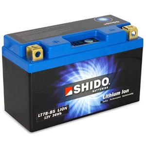 YT7B-BS Shido Lithium Motorcycle Battery LiFePO4 LT7B-BS