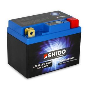 YTX5L-BS Shido Lithium Motorcycle Battery LiFePO4 LTX5L-BS