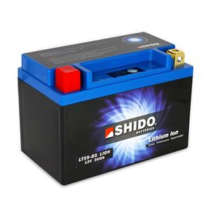 YTX9-BS Shido Lithium Motorcycle Battery LiFePO4 LTX9-BS