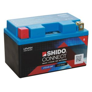 YTZ14S SHIDO Connect Lithium Motorcycle Battery LTZ14S CNT