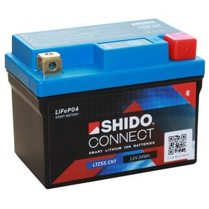 YTZ5S SHIDO Connect Lithium Motorcycle Battery LTZ5S CNT