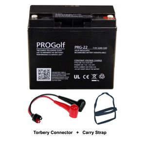 PRG-22 ProGolf Golf Trolley Battery 22Ah with Torberry Lead