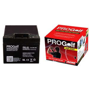 PRG-26 ProGolf Golf Trolley Battery 26Ah