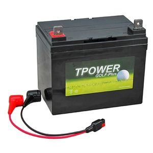 TP34-12 TPOWER Golf Trolley Battery with Torberry Lead