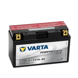 YT7B-BS Varta Powersports Motorcycle Battery 507 901 012