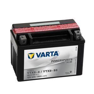 508 012 008 Varta Powersports Batterie De Moto - Remplace YTX9-BS