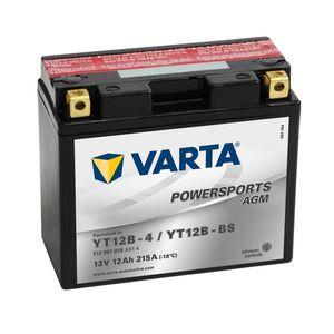YT12B-4 Varta Batterie De Moto AGM 512 901 019