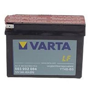 YT4B-BS Varta Powersports AGM Motorcycle Battery 503 902 004 12V 3Ah