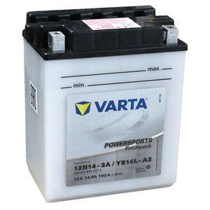 YB14L-A2 Varta Powersports Freshpack Batterie De Moto 514 011 014 (12N14-3A)