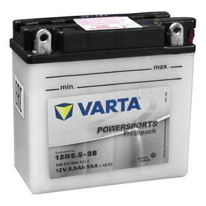 12N5.5-3B Varta Powersports Freshpack Batterie De Moto 506 011 004