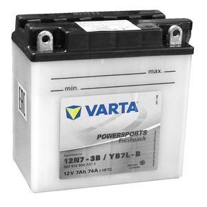 YB7L-B Varta Powersports Freshpack Batterie De Moto 507 012 004 (12N7-3B) 507012004
