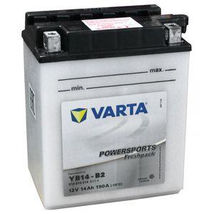 YB14-B2 Varta Batterie De Moto 514 014