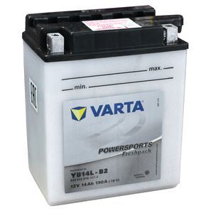YB14L-B2 Varta Powersports Freshpack Motorcycle Battery 514 013 014