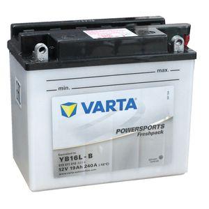 YB16L-B Varta Powersports Freshpack Motorcycle Battery 519 011 019