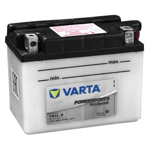 YB4L-B Varta Powersports Freshpack Motorcycle Battery 504 011 002