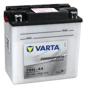 YB9L-A2 Varta Batterie De Moto 509 016 (12N9-3A)