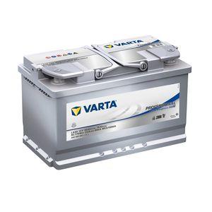 LA80 Varta Dual Purpose AGM Leisure Battery 840 080 080