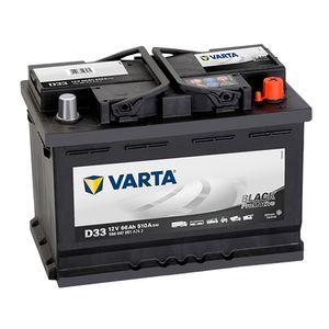 D33 VARTA PROMOTIVE BLACK 12V 66Ah 566 047 051