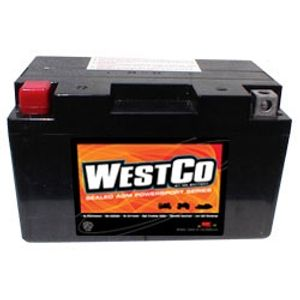YT12A-BS Westco Motorcycle Battery 12V 10Ah (12V12A-BS)