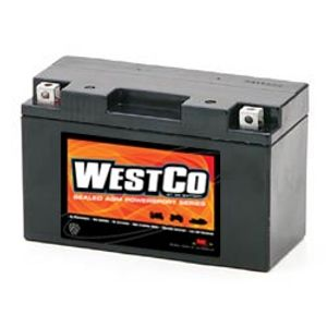 YT7B-BS Westco Motorcycle Battery 12V 7Ah  (12V7B-B)