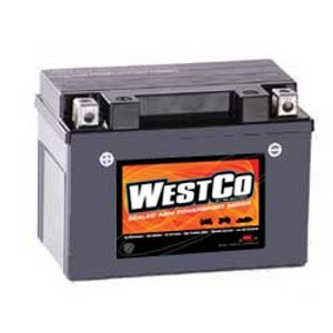 12V9-B Westco Motorcycle Battery 12V 8Ah - Replaces YTX9-BS
