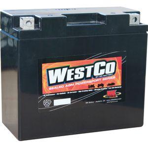 YT12B-4 Westco Batterie De Moto 12V 10Ah  (12V12B-4)