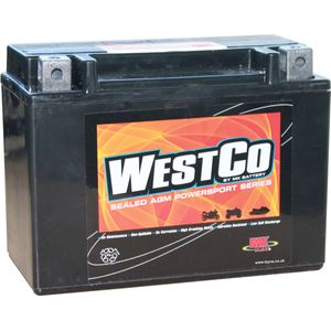 12V13L Westco Motorcycle Battery 12V 13Ah - Replaces YTX15L-BS